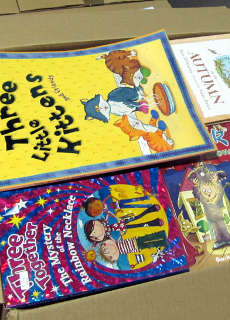 wholesale box of children's books