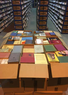 pallet of antiquarian, rare and pre-ISBN books